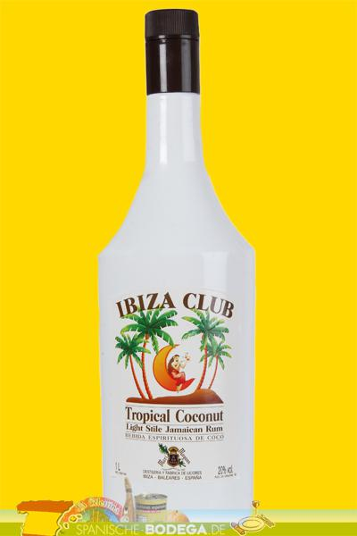 Ibiza Club Tropical Coconut