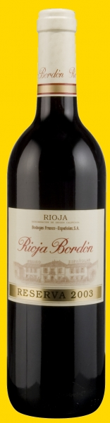 Rioja Bordon Reserva