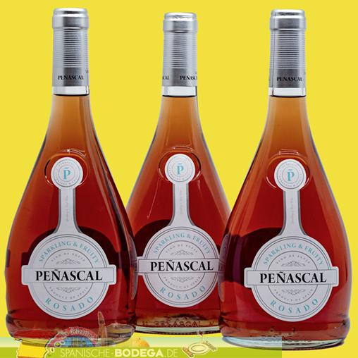 3 x 75cl Penascal Rosado Rosewein 2,25l