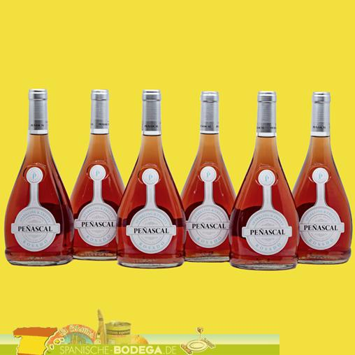 6 x 75cl Penascal Rosado Rosewein 4,5l