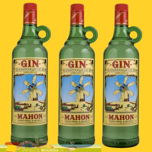 3 x 70cl Gin Xoriguer Mahon 210cl
