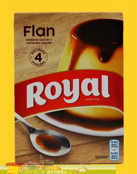 Royal Flan Caramelpudding 4 Portionen 93g