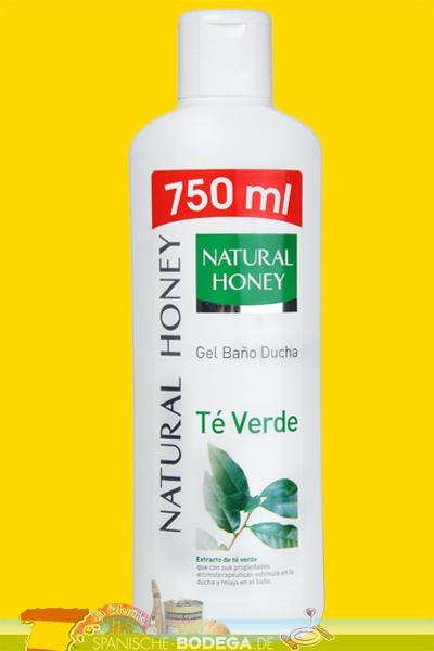 Gel De Baño Bottega Verde:Gel Baño Ducha Natural Honey Té Verde
