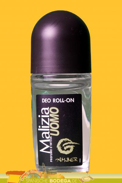 Malizia UOMO Amber - Deo Roll-On