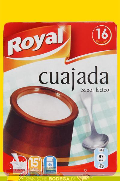 Royal Cuajada Puddingpulver Zubereitung 16 Portionen 48g