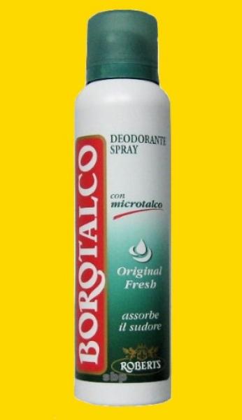 Felce azzurra deo spray classic spanische bodega ihr - Borotalco bagno ...