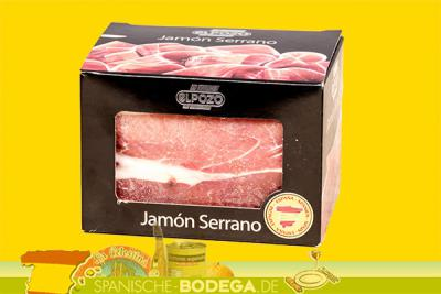 El Pozo Jamon Serrano, Schinken in Blockform 1kg