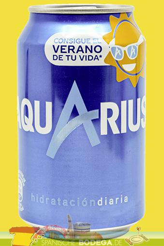 Aquarius Orange in der Dose 330ml