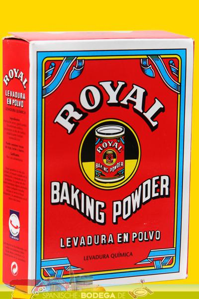 Royal Levadura en Polvo Baking Powder Backpulver 64g