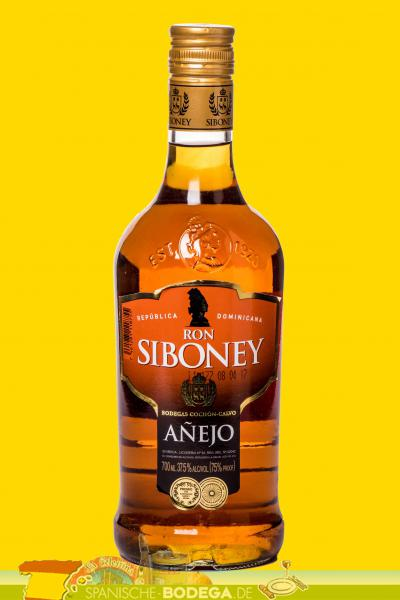 Ron Siboney Añejo 70cl 37,5% Vol.