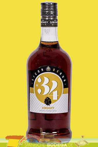 Siboney Licor de Ron No. 34 700ml 34% Vol.