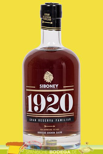 Siboney Gran Reserva Familiar 1920 70cl