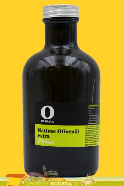 O de Oliva Extra Virgen, Olive Oil Picual Natives Olivenöl Extra