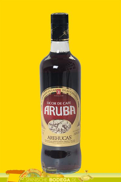 Licor de Cafe Aruba Arehucas 70cl.  24% Vol.