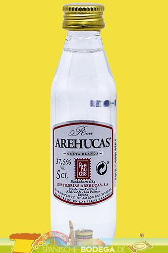 Arehucas Carta Blanca Miniatures Rum 5cl 37,5%Vol.