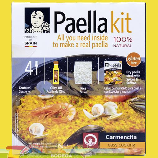 Carmencita Paella kit 100g Natural 415g