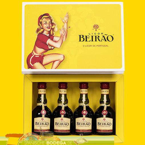 Licor Beirao Mini 4 x 0,05L