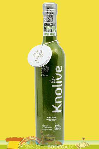Knolive Epicure Extra Virgin Olive Oil 500ml