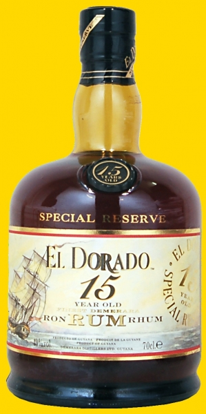 Rum El Dorado 15  Years Old