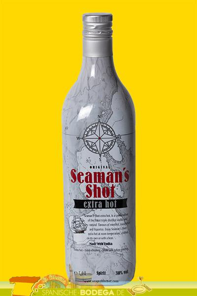 Original Seamans Shot extra hot 1 Liter