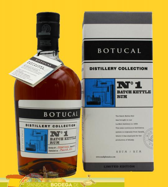 Botucal N°1 Batch Kettle Rum Limited Edition 70cl