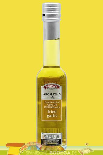 Borges Aromatics Olive Oil Fried Garlic