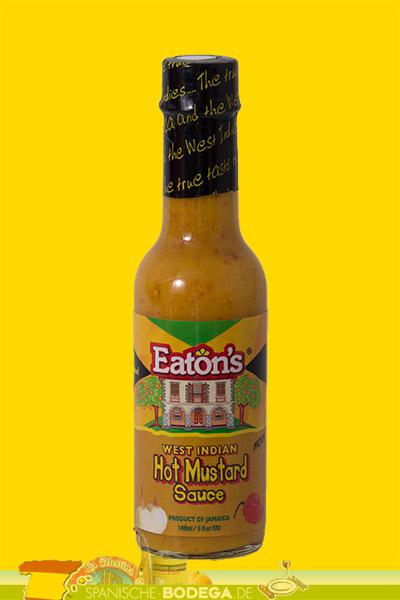 Eatons West Indian Hot Mustard Sauce