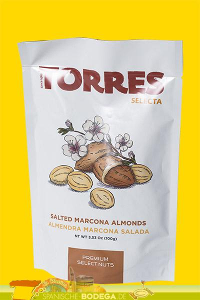 Torres Selecta Salted Marcona Almonds 100g