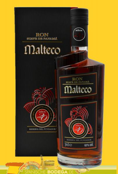 Malteco Ron 20 Years 70cl