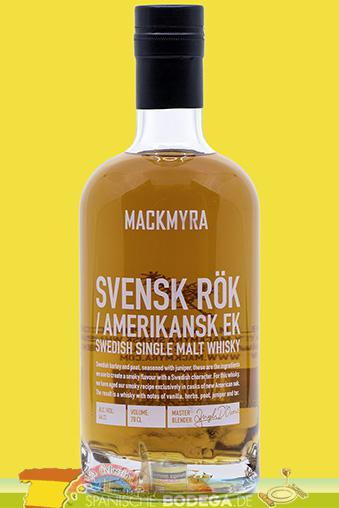 Mackmyra Svensk Rök Swedish Single Malt Whisky 70cl.