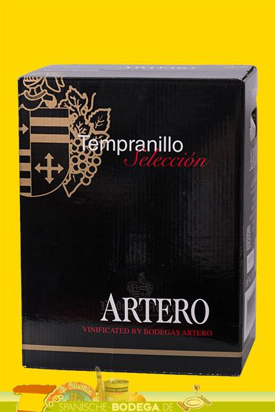 Artero Tempranillo - 5 Liter in bag-in-box Rotwein