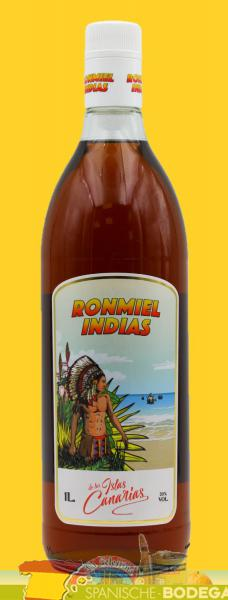 Artemi Ron Miel Indias Honey Rum 1l