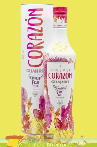 Guajiro Corazon Canarian Fruit Rum 70cl