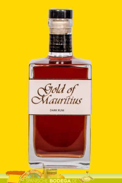 Gold of Mauritius Dark Rum 40% Vol. 0,7l