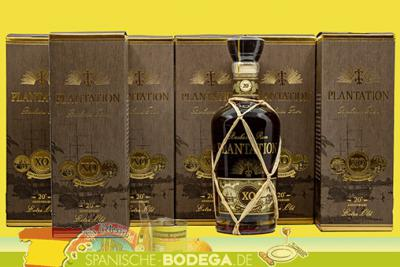 6 x 70cl Plantation Barbados Rum Extra Old 20th Anniversary 4,2l