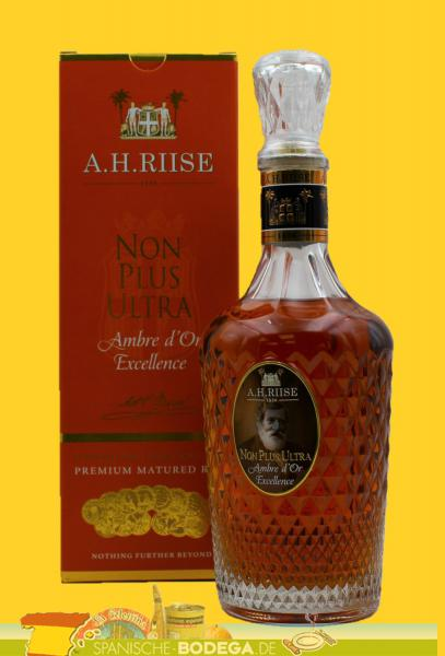 A. H. Riise Non Plus Ultra Ambre d´Or Excellence Rum 70cl