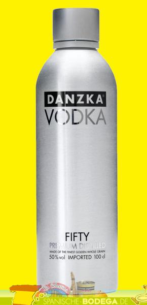 Danzka Vodka Premium Distilled 50% Vol. 1 Liter