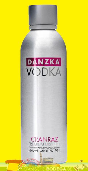 Danzka Vodka Premium Distilled Cranraz 40% Vol. 0,7 Liter