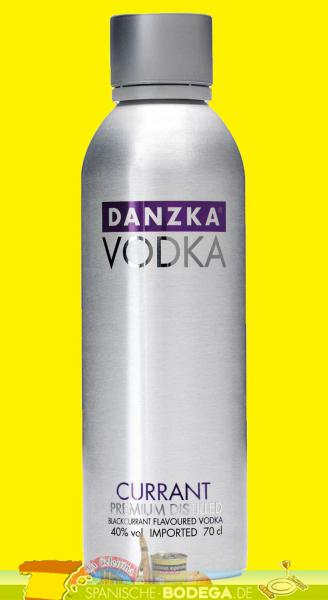 Danzka Vodka Premium Distilled Currant 40% Vol. 0,7 Liter