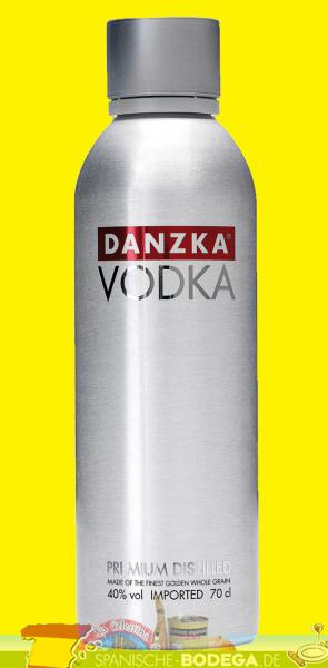 Danzka Vodka Premium Distilled 40% Vol. 0,7 Liter