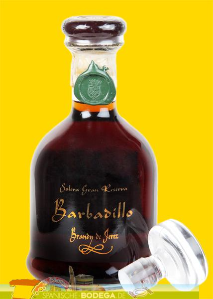 Brandy Barbadillo Solera Gran Reserva 40% Vol.  70 cl.