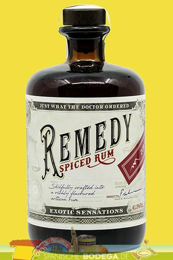 Remedy Spiced Rum 50ml