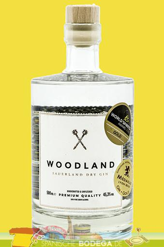 Woodland Dry Gin 500ml