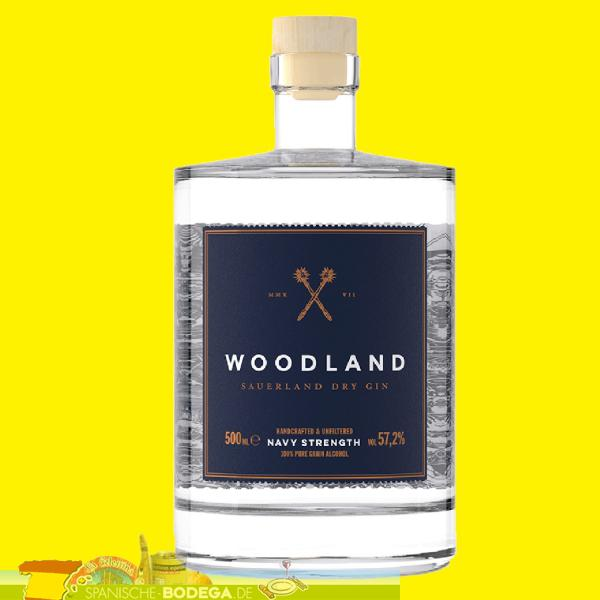 Woodland Sauerland Dry Gin Navy Strength 500ml