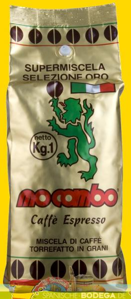 12 x 1 kg Kaffee Mocambo Gran Bar Gold