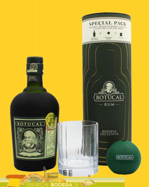 Ron Botucal RE Glas + Eisform 40% 700ml
