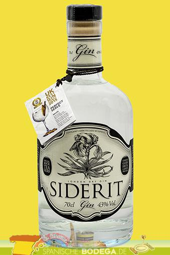 Siderit London Dry Gin 43% Vol. 70 cl