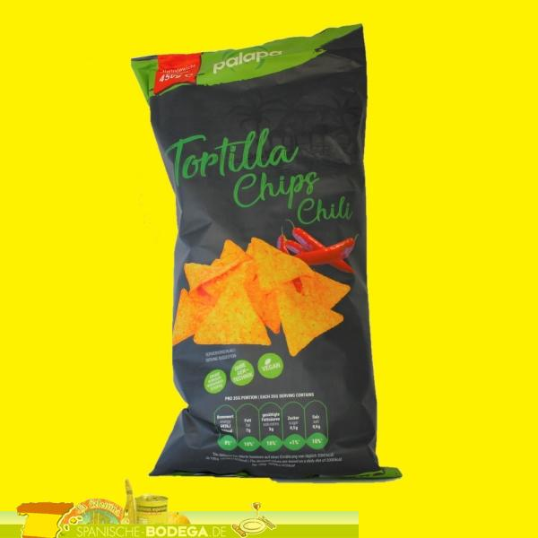 Palapa Tortilla Chips mit Chili 450g