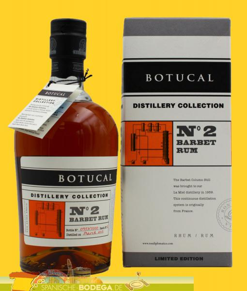 Botucal N°2 Barbet Rum Limited Edition 700ml