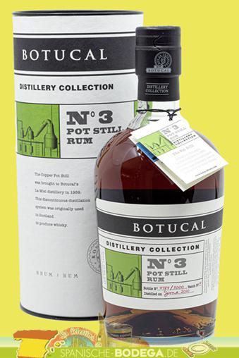 Ron Botucal N°3 Pot Still Rum 70cl